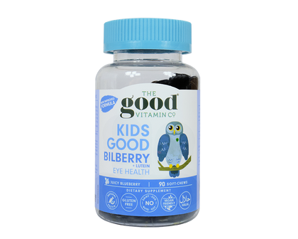 TheGoodVitaminCo. Kids Good Bilberry + Lutein 90 soft-chews - 365 Health Limited