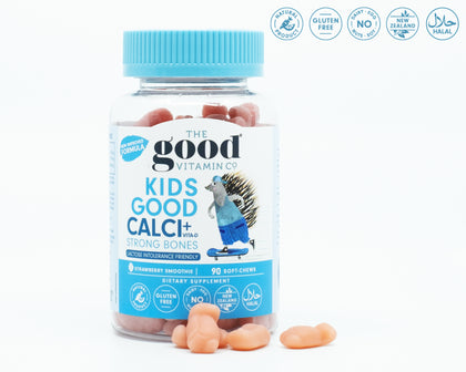TheGoodVitaminCo Kids Good Calci+ & Vita-D 90 Soft-Chews - 365 Health Limited