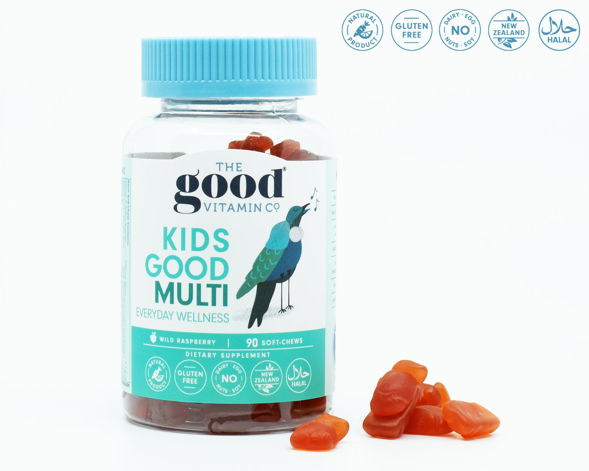 TheGoodVitaminCo Kids Good Multi 90 Soft-Chews