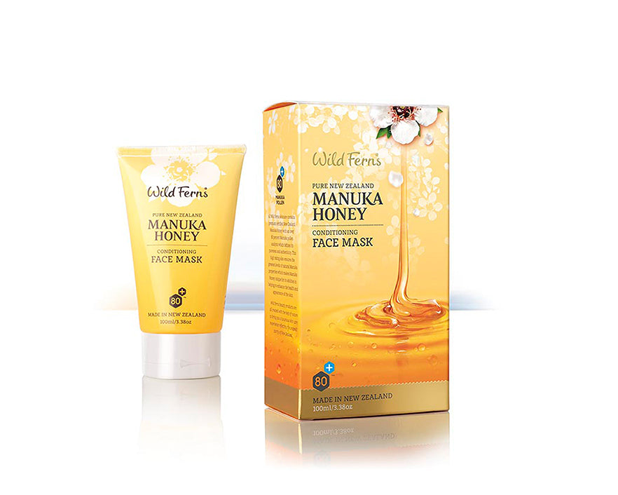 Wild Ferns Manuka Honey Conditioning Face Mask 100ml