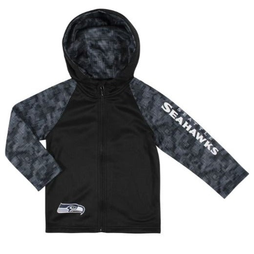 Toddler Boys Seattle Seahawks Hooded Jacket