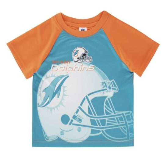 Miami Dolphins Toddler Boys' Short Sleeve Tee