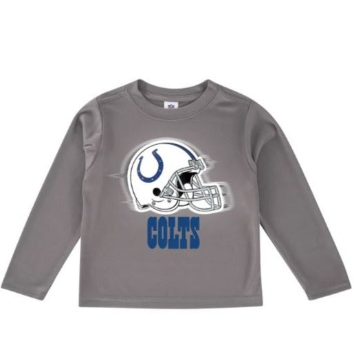 Indianapolis Colts Toddler Boys' Long Sleeve Logo Tee