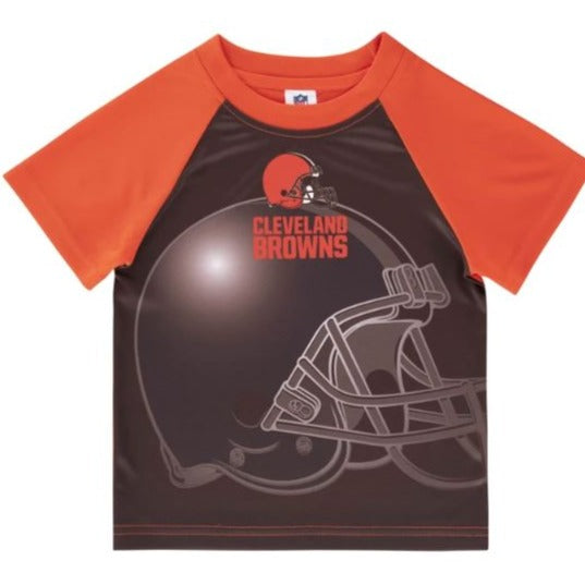 Cleveland Browns Toddler Boys' Short Sleeve Tee