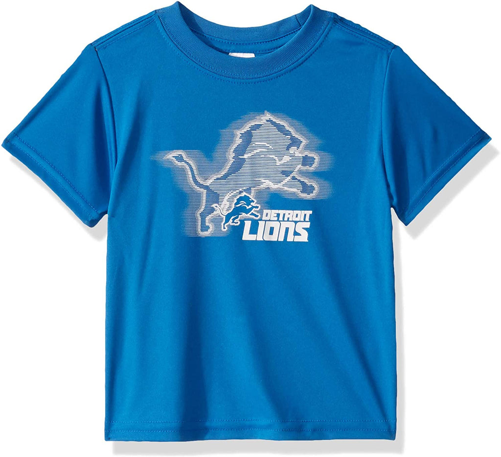 Detroit Lions Toddler Boys' Short Sleeve Logo Tee