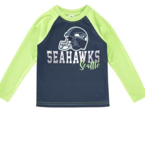 Seattle Seahawks Toddler Boys' Long Sleeve Tee
