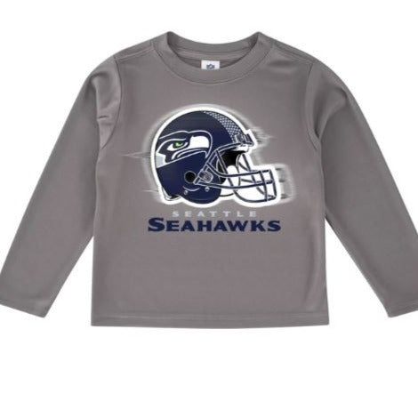 Seattle Seahawks Toddler Boys' Long Sleeve Logo Tee