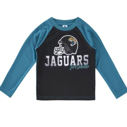 Jacksonville Jaguars Toddler Boys' Long Sleeve Tee