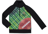 New Orleans Saints Boys 1/4 Zip Jacket