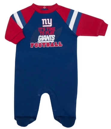 Baby Boys New York Giants Sleep N Play