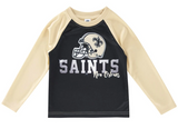 New Orleans Saints Toddler Boys' Long Sleeve Tee