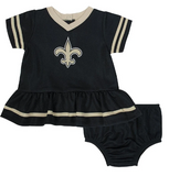 Saints Baby Girls Dress Set with Panty