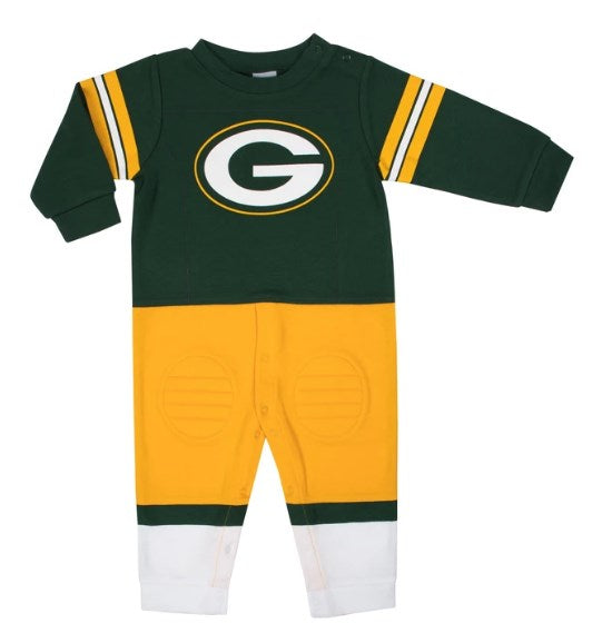 Green Bay Packers Baby Boys Footysuit