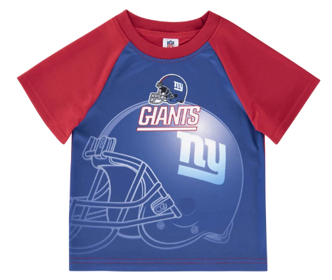New York Giants Toddler Boys' Short Sleeve Tee