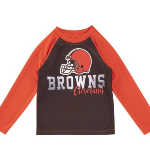 Cleveland Browns Toddler Boys' Long Sleeve Tee