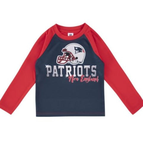 New England Patriots Toddler Boys' Long Sleeve Tee