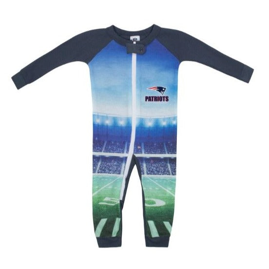 New England Patriots Boys Union Suit