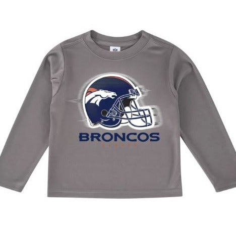 Denver Broncos Toddler Boys' Long Sleeve Logo Tee