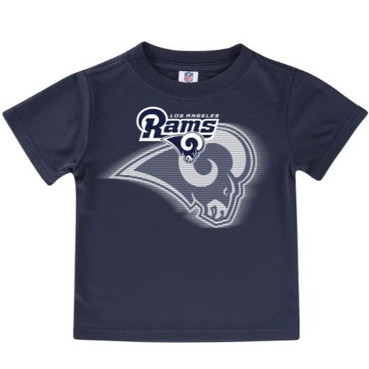 Los Angeles Rams Toddler Boys' Short Sleeve Logo Tee