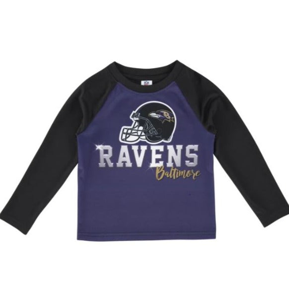 Baltimore Ravens Toddler Boys' Long Sleeve Tee