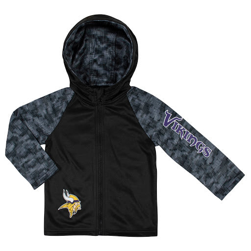 Toddler Boys Minnesota Vikings Steelers Hooded Jacket