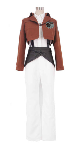 Attack on Titan - The Garrison Stationary Guard Cosplay Costume