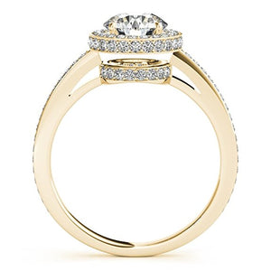 Stunning 1 Carat T.W Antique Diamond Ring in 14K Solid Gold - Artsyjewels