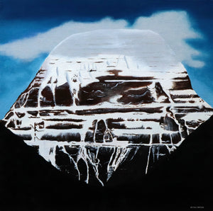 Original Mt Kailash Painting Oil on Canvas - Artsyjewels