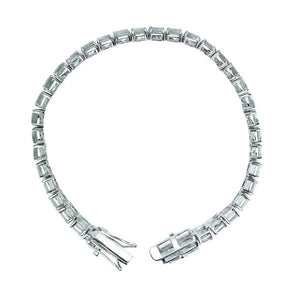 Lovely 5mm Cushion Cut Tennis Bracelet for Women in Multiple Gemstones - Artsyjewels