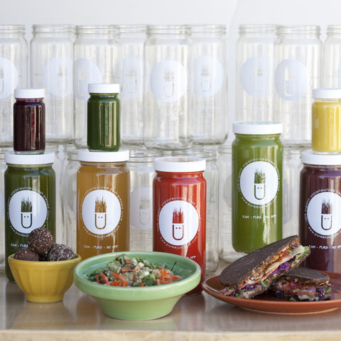 Organic Cold Pressed Juice Cleanses And Meals Home