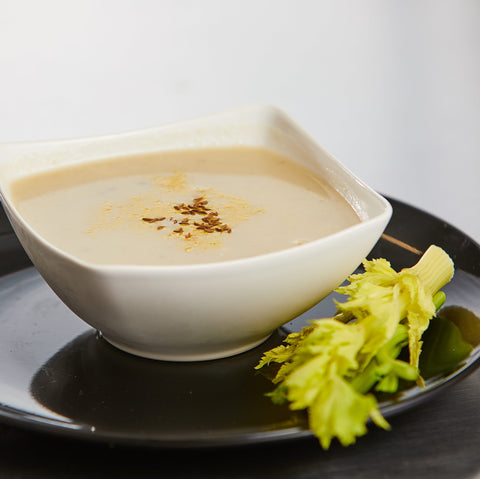 Cauliflower Caraway Soup, Seasonal