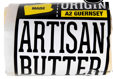 Artisan Butter, 1/2 pound, LOCAL!