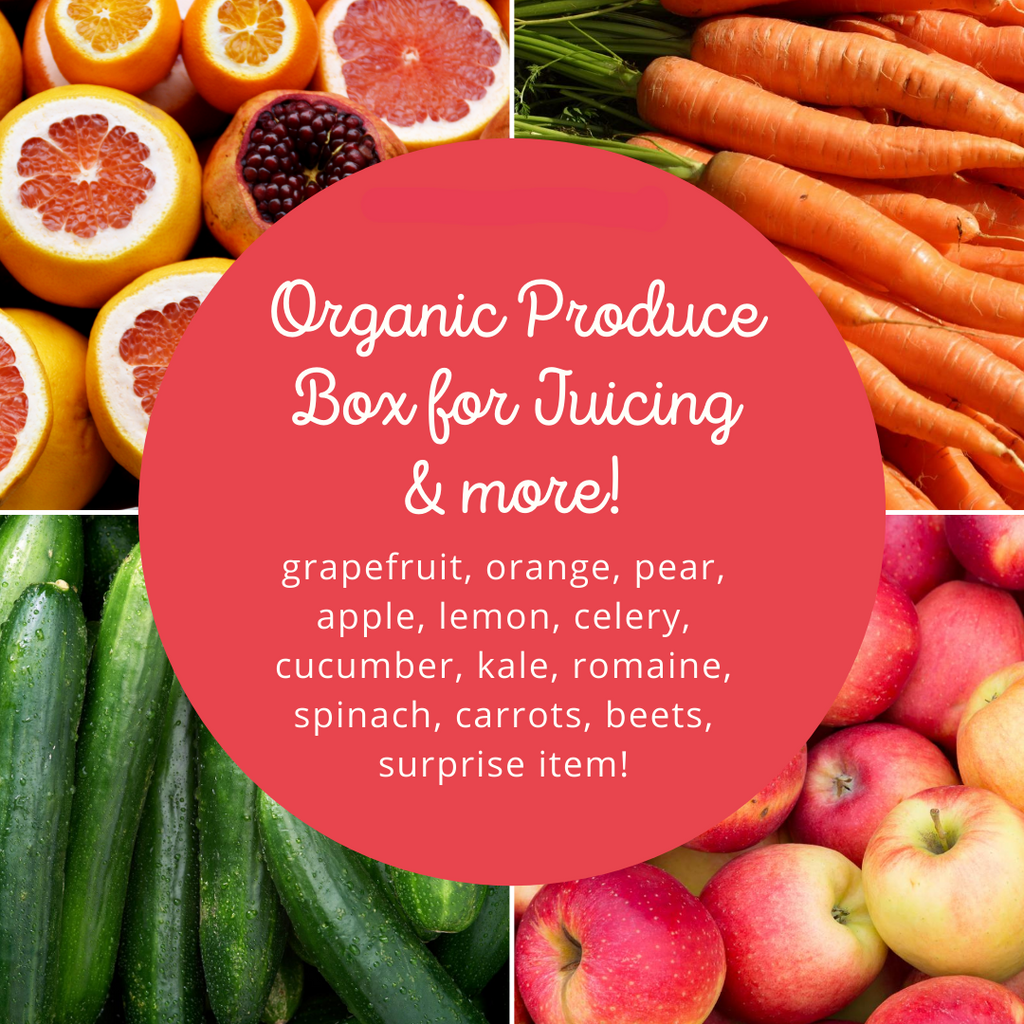 Organic Juicing Produce Box