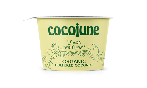 Organic Coconut Yogurt, 4 oz, LOCAL!