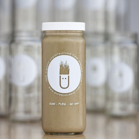 Puree Cafe Coconut Mylk Latte