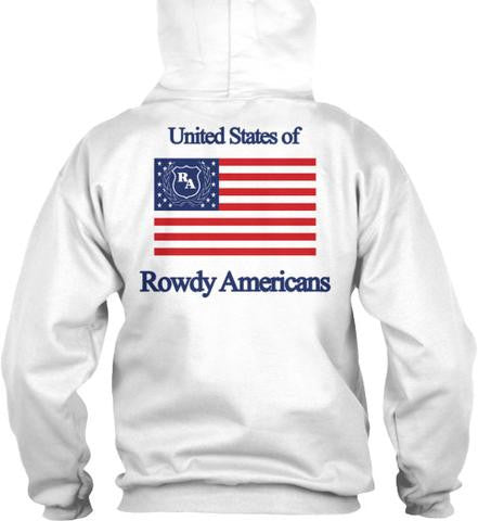 United States of Rowdy Americans Hoodie