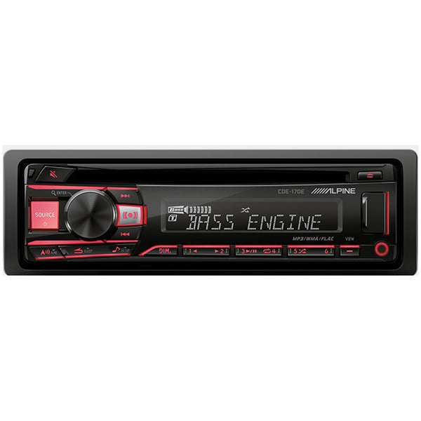 Alpine CDE-170E Head Unit