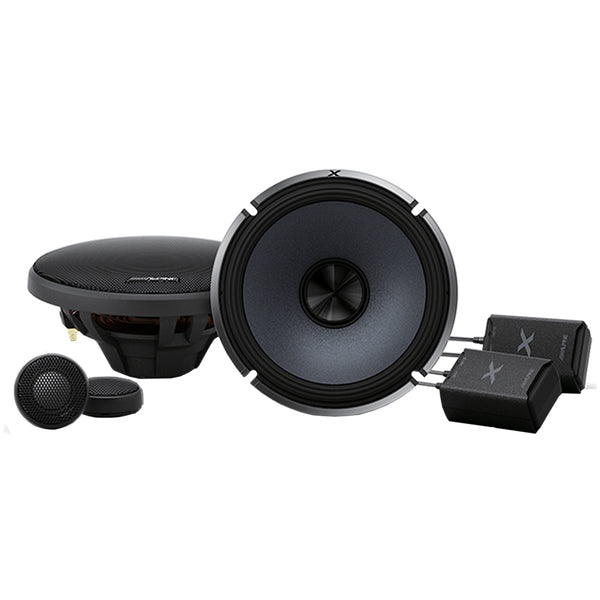 Alpine X-S65C 6-1/2″ Component 2-Way Speaker