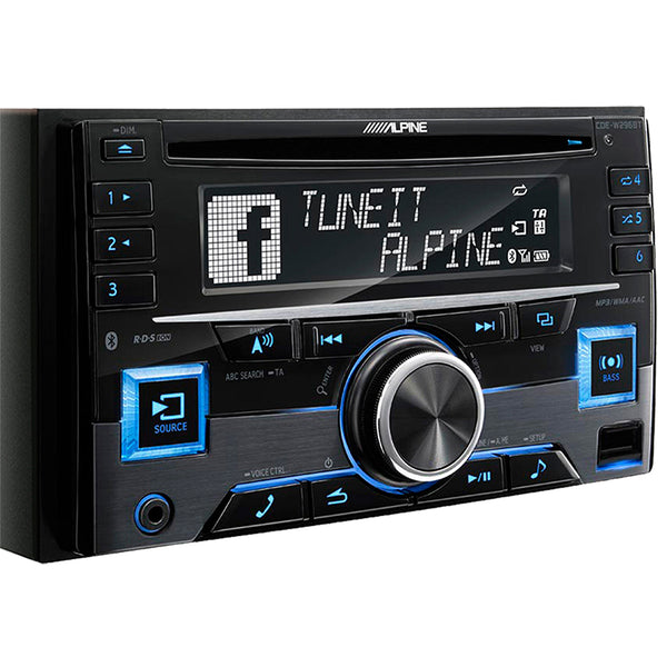 Alpine CDE-W296EBT Head Unit