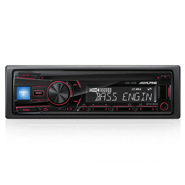 Alpine CDE-150E Head Unit