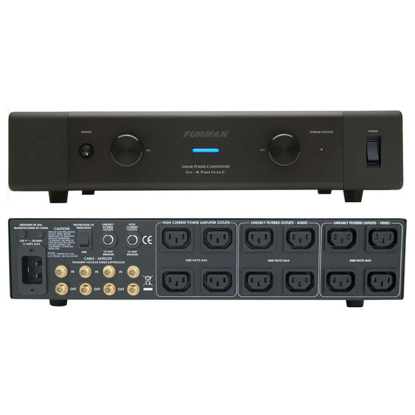 Furman 16A Home Theater Power Conditioner with Power Factor, 230V ELITE-16 PF E I