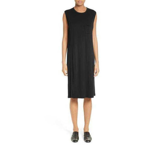 T BY ALEXANDER WANG Overlap T-Shirt Dress - Fitfineandfabulous.com