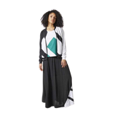 Adidas Originals EQT Long Skirt - Fitfineandfabulous.com