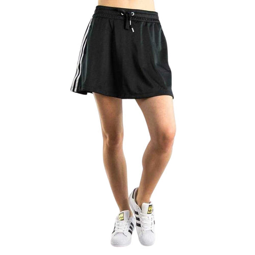 Adidas Originals 3 Stripes Mini Skirt - Fitfineandfabulous.com
