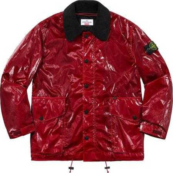 Supreme/Stone Island new silk light Jacket - Fitfineandfabulous.com