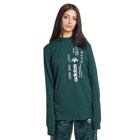 Adidas Originals by Alexander Wang Graphic Long Sleeve - Fitfineandfabulous.com