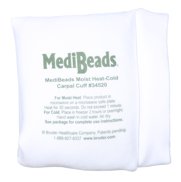 MediBeads Moist Heat/Cold Carpal Cuff, moist heat therapy, carpal tunnel relief, heat/cold therapy, wrist pain relief, moist heat