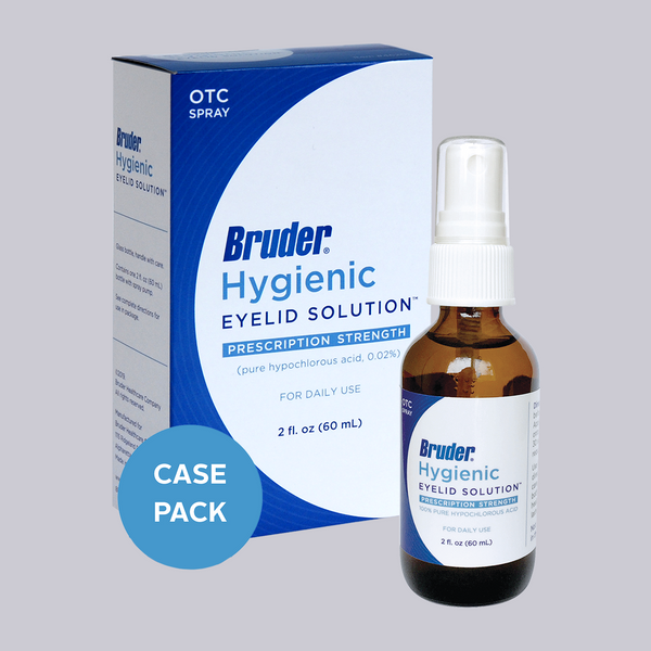 Bruder Hygienic Eyelid Solution - 2 fl. oz./60mL (Case of 12)