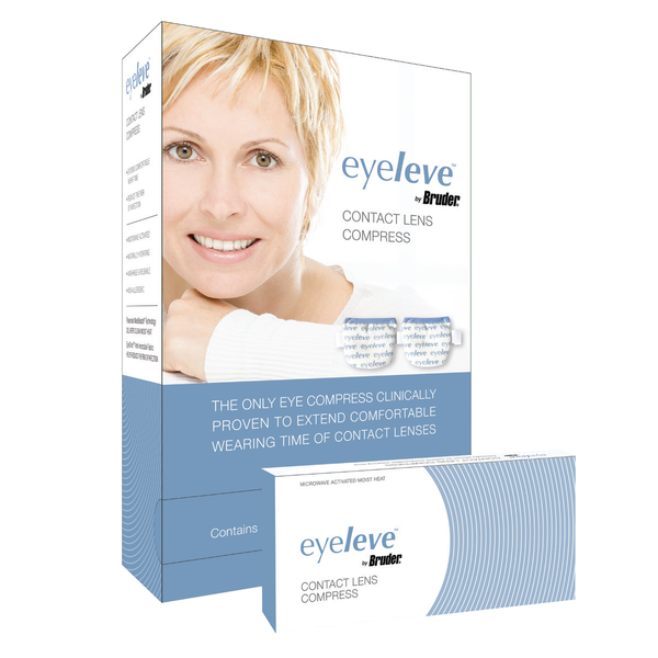 Eyeleve <br>Contact Lens Compress <br>(Dispenser with 10 Compresses)