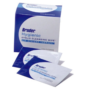Bruder Hygienic Eyelid Cleansing Wipes. 30/unit.
